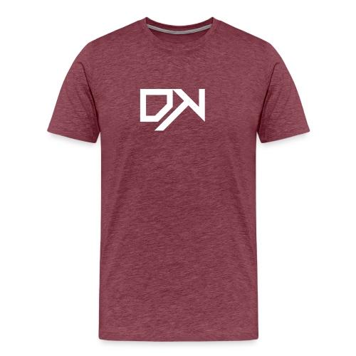 DewKee Logo Cap White - Men's Premium T-Shirt