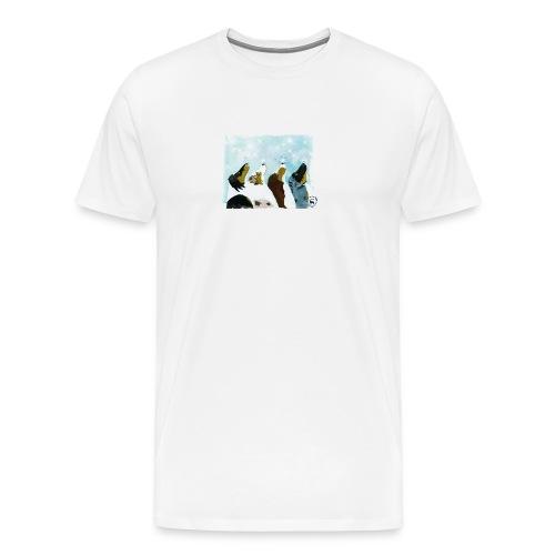 NMASK-trøye med kunsttrykk malt av Tanja Vean - Premium T-skjorte for menn