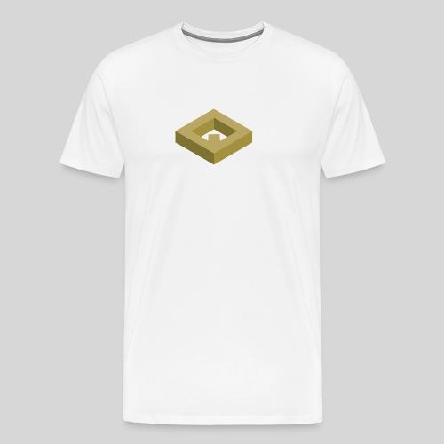 White Drawstring Bag v1 - Maglietta Premium da uomo