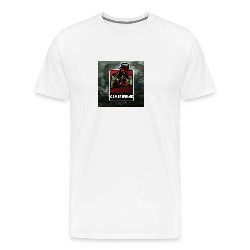 GamersPrime Logo - Premium T-skjorte for menn
