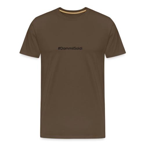 DammiiSoldi Black - Maglietta Premium da uomo