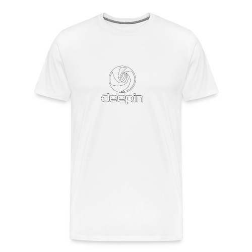 deepinlogotrasparente - Maglietta Premium da uomo