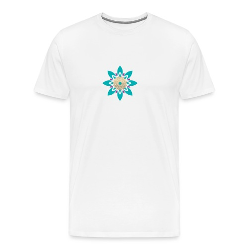 Flower of Love - Mannen Premium T-shirt