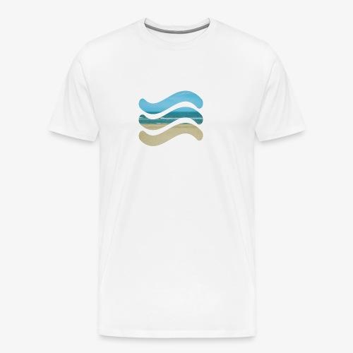 Beach - Mannen Premium T-shirt