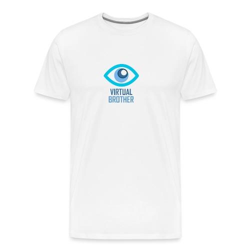LOGOVIRTUALBROTHER - Camiseta premium hombre