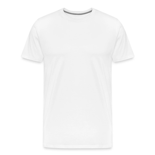 Female Exclusive Rose Dot White V-Neck T-Shirt - Men's Premium T-Shirt