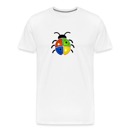 WINDOWS BUG/VIRUS - Männer Premium T-Shirt