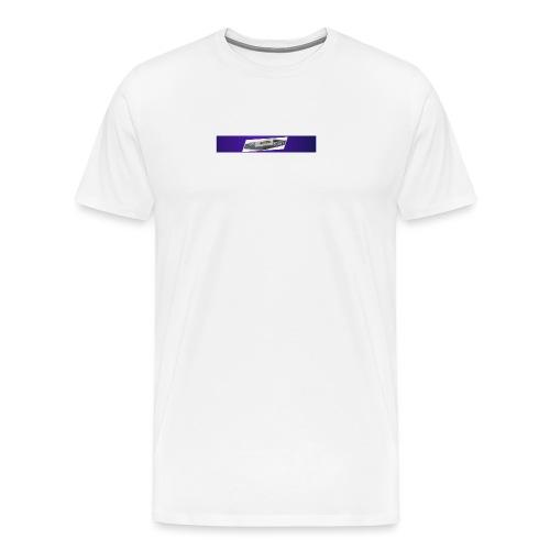The chocolateminecart original design - Men's Premium T-Shirt