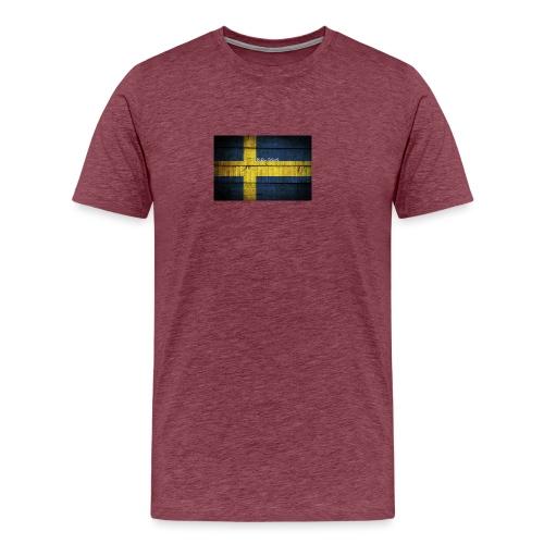 swedish-flag - Premium-T-shirt herr