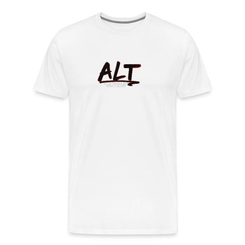 ALT Collection Special RED PLAY YOUR LIFE - T-shirt Premium Homme