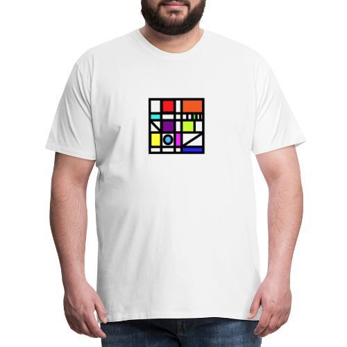 Squares - Men's Premium T-Shirt