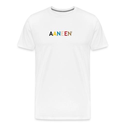 AANEEN_Alleen_Letters - Mannen Premium T-shirt