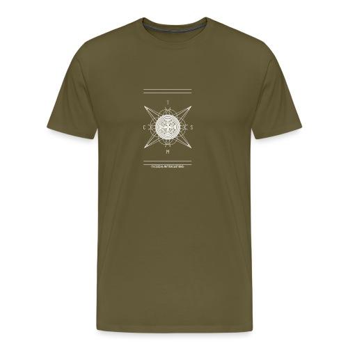 DE PIONEER [WIT] - Mannen Premium T-shirt
