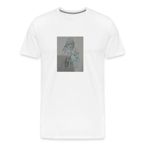 Camiseta con retrato - Camiseta premium hombre