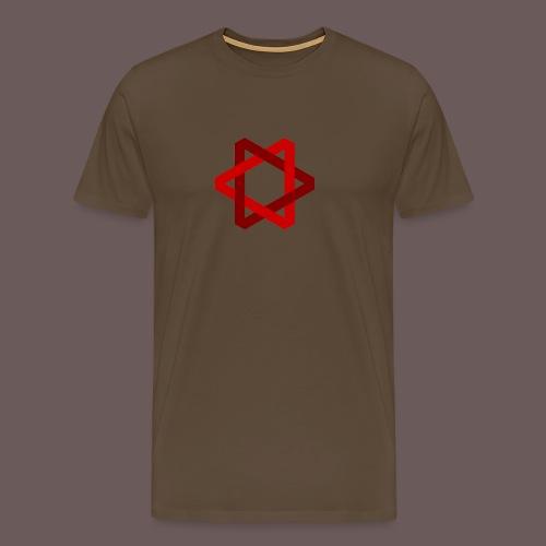 Two Triangles - Herre premium T-shirt