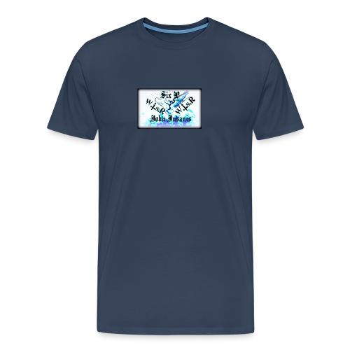 Six P & John Insanis WISR -Huppari- - Miesten premium t-paita
