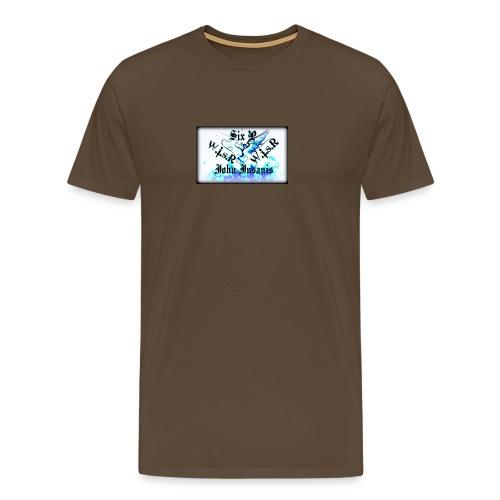 Six P&John Insains Deamon WisR - Miesten premium t-paita