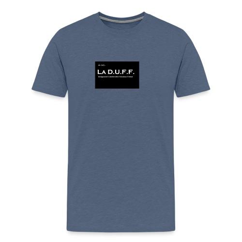 Je Suis La D.U.F.F. Shirt female - Mannen Premium T-shirt