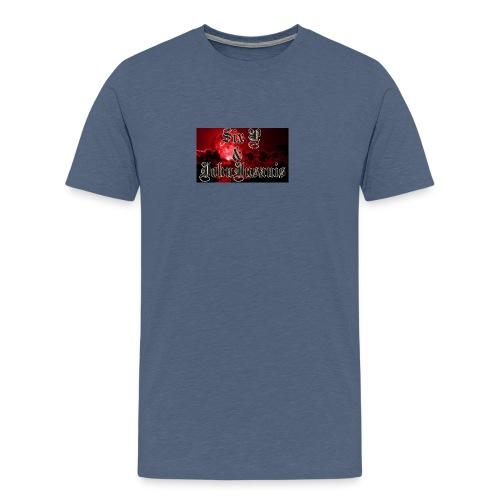 Six P & John Insanis Huppari - Miesten premium t-paita
