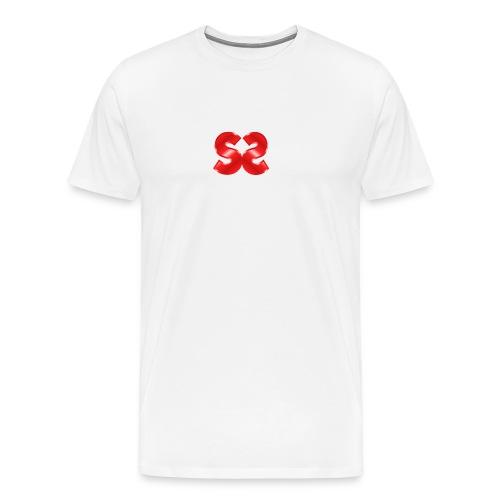 Spillstudio stor logo - Premium T-skjorte for menn
