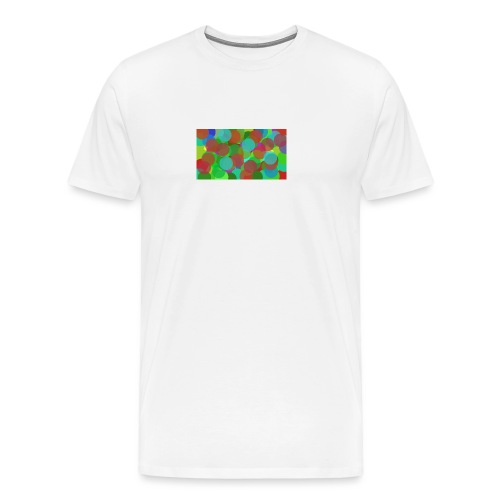 dotty - Premium-T-shirt herr