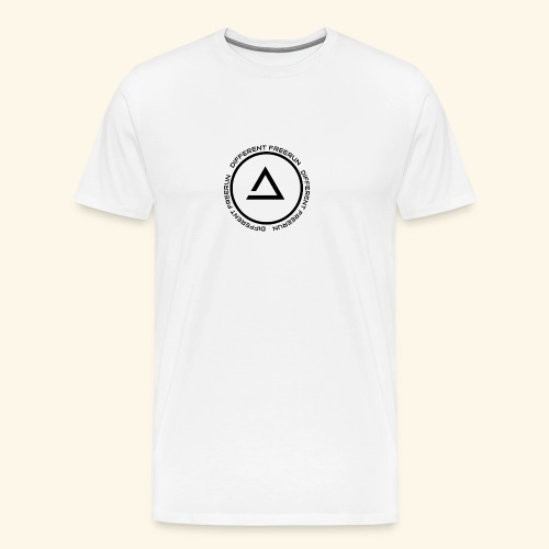 logo different png - Mannen Premium T-shirt