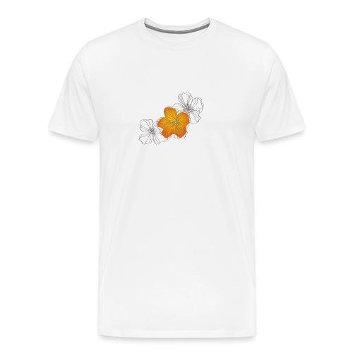 Flowers - Camiseta premium hombre