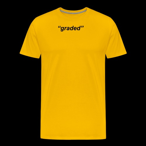 Simple Logo, Graded - Men's Premium T-Shirt