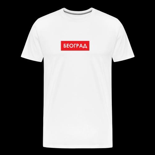 Beograd - Utoka - Männer Premium T-Shirt