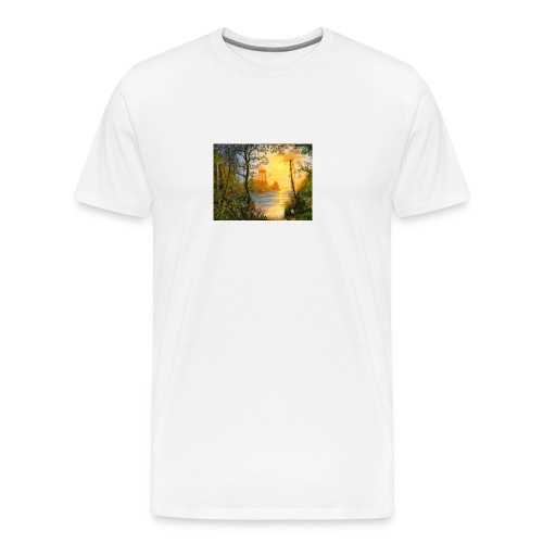 Temple of light - Men's Premium T-Shirt