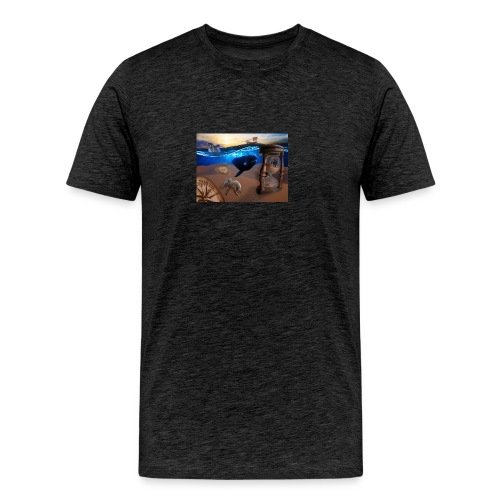 Wodne Przemyślenia - Koszulka męska Premium