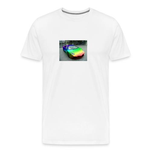 bakgrund - Premium T-skjorte for menn