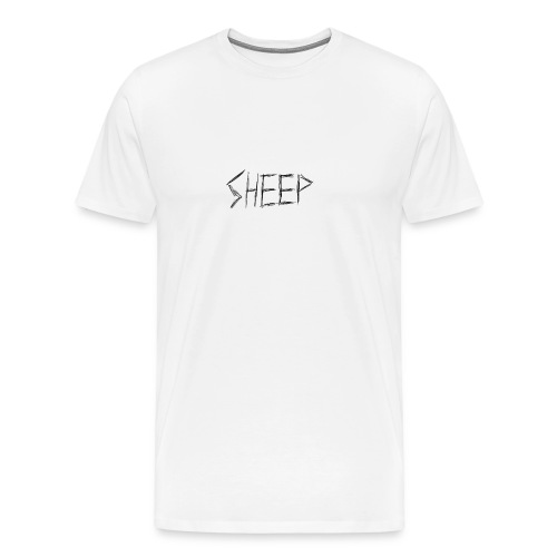 sheep. - Men's Premium T-Shirt