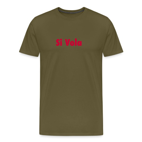 SiVola - Maglietta Premium da uomo