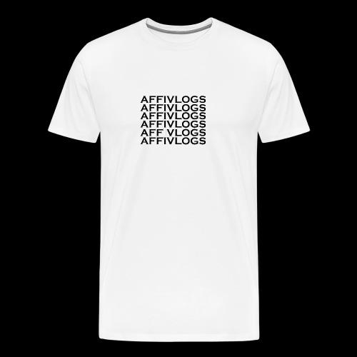 Affi Vlogs Mal 6 - Männer Premium T-Shirt