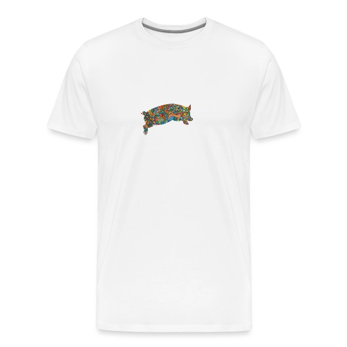 Time for a lucky jump - Men's Premium T-Shirt