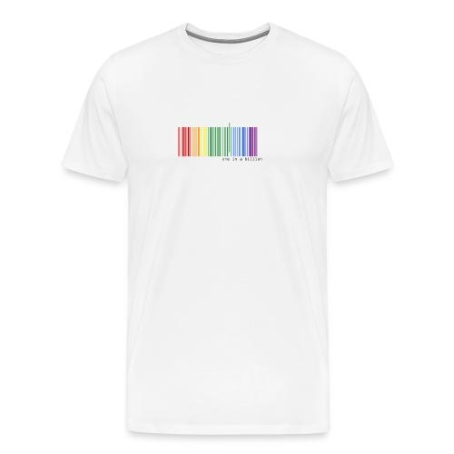 one in a billion - Camiseta premium hombre