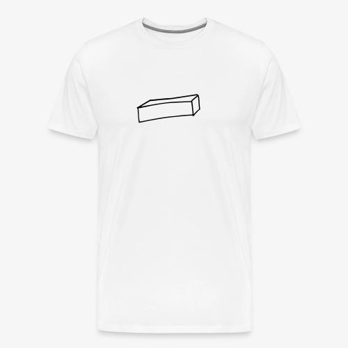 Cube allongé - T-shirt Premium Homme