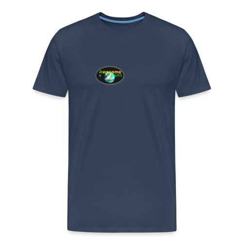 awesome earth - Men's Premium T-Shirt