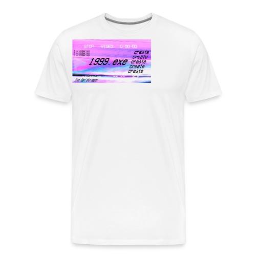1999.exe - Camiseta premium hombre