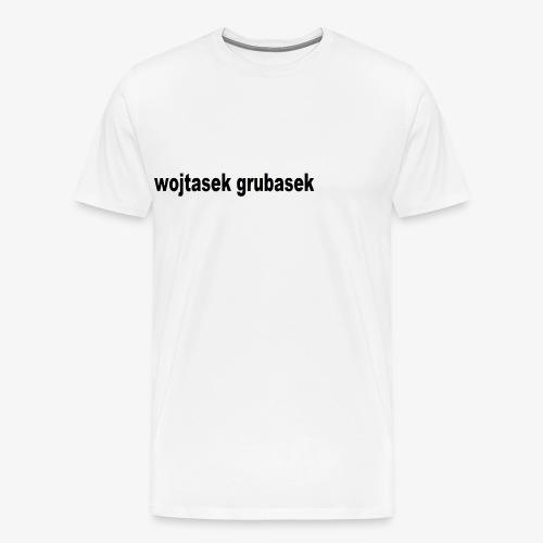 wojtasek grubasek - Koszulka męska Premium