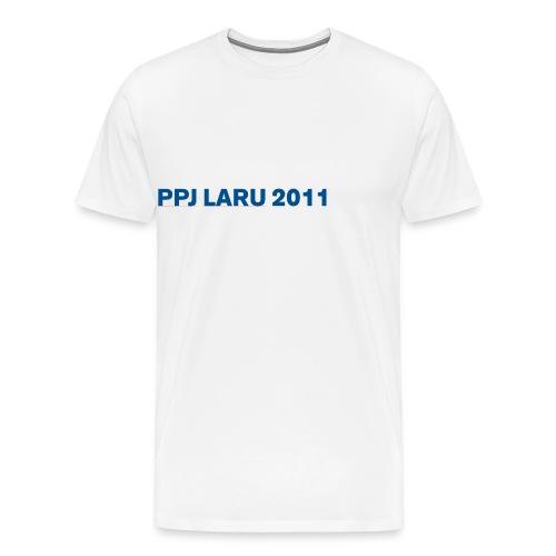 Teksti ilman seuran logoa - Miesten premium t-paita