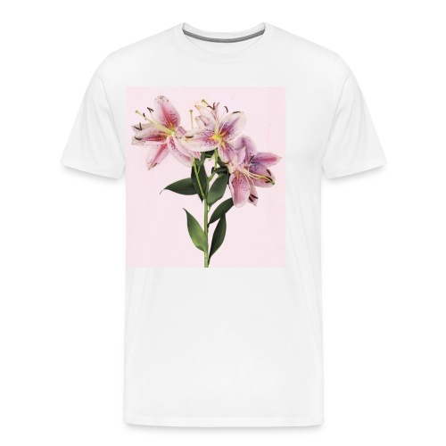 Moment in Pink - Men's Premium T-Shirt