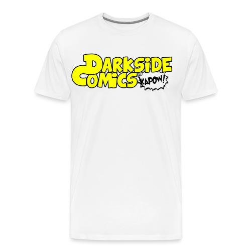 Darkside Comics Full Logo Streetwear - Men's Premium T-Shirt