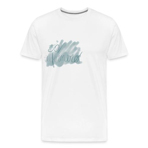 50% enfermero - Camiseta premium hombre