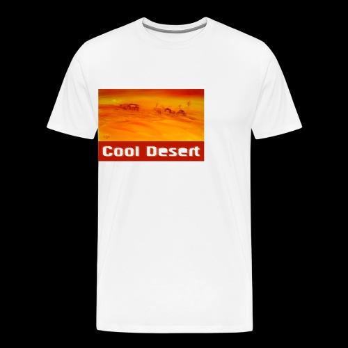 Cool Desert Sahara Motiv - Männer Premium T-Shirt