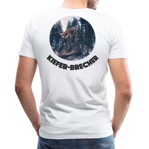 KIEFER SCHWARZ - Männer Premium T-Shirt