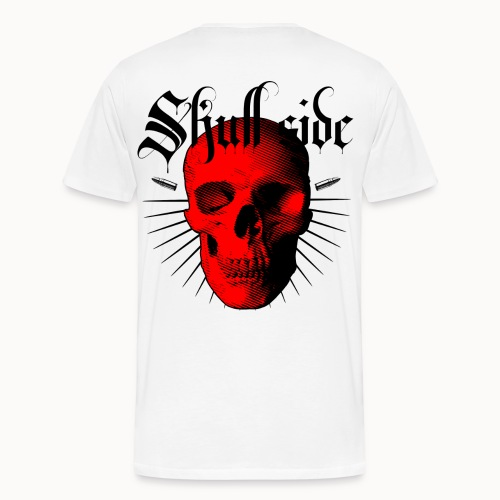 Skull side red - Männer Premium T-Shirt