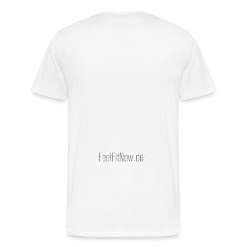 feelfit schriftzug - Männer Premium T-Shirt