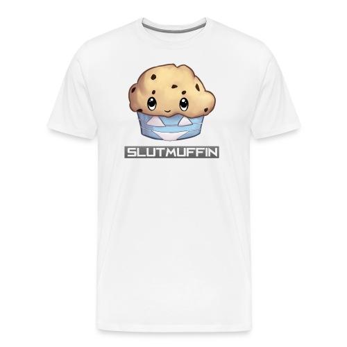 SlutMuffin Outlineaa png - Men's Premium T-Shirt